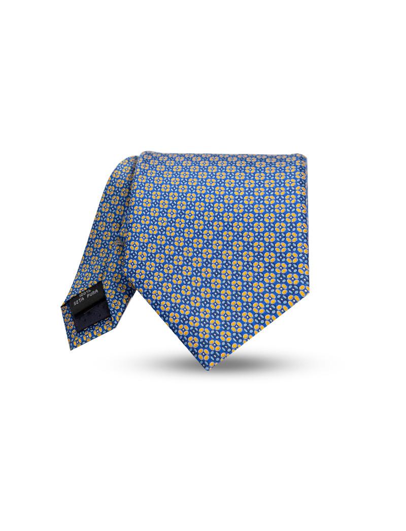 Cravatta fantasia Sorrento in seta