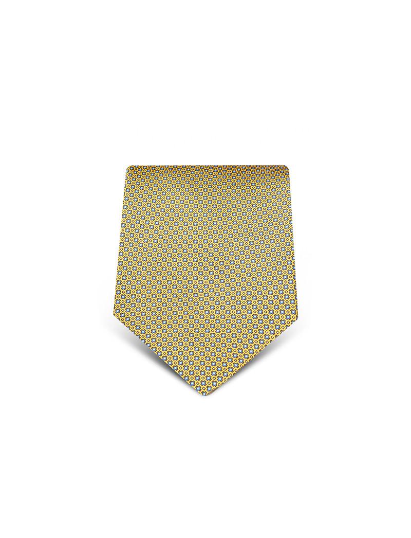 Cravatta fantasia Capri in seta